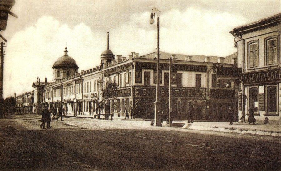 Николаевская улица (ул. Советская). До Николаевской называлась Большой и Губернской.