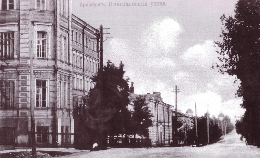 Николаевская улица (ул. Советская). До Николаевской называлась Большой и Губернской