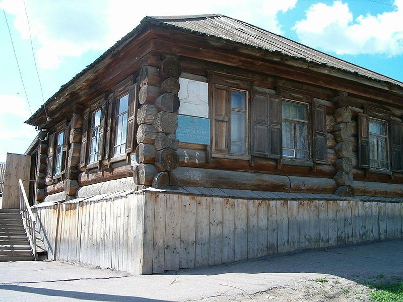 Дом, где венчали Пугачева с казачкой Устиньей Кузнецовой. Уральск (Казахстан)