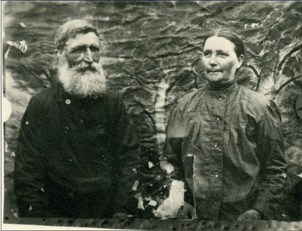 Мои прапрадед и прапрабабушка супруги Мищенко