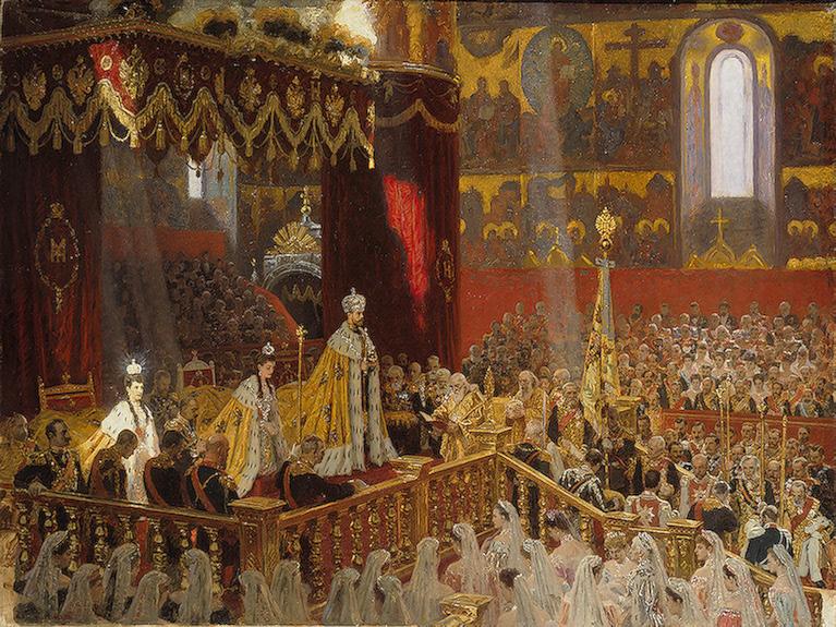 Коронация императора Николая II Александровича и императрицы Александры Феодоровны (Лауриц Туксен, 1898 год)