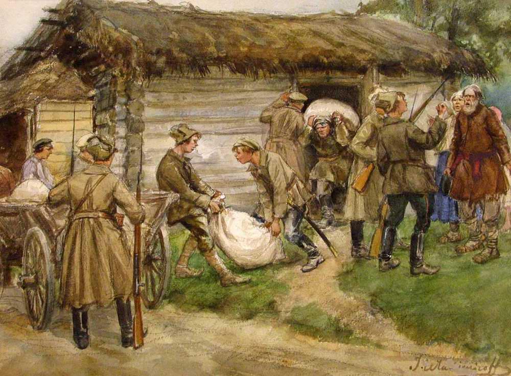 Продразверстка (реквизиция). Иван Алексеевич Владимиров (29 декабря 1869 (10 января 1870) — 14 декабря 1947)