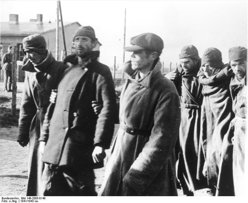 Sandbostel советские военнопленые