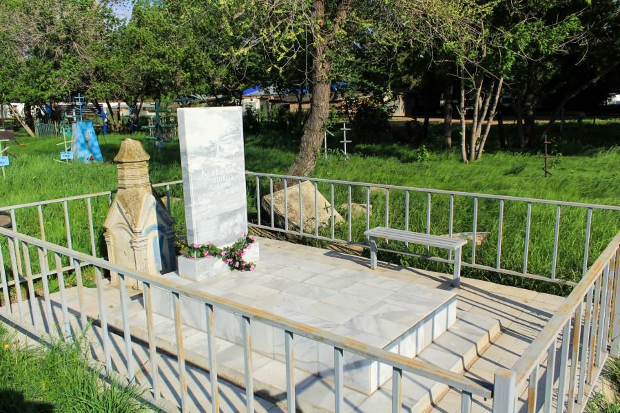 Здесь покоится Коннова Степанида Львовна. (1867-1949)