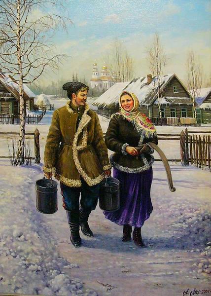 Андрей Лях. Сюжет из жизни Сибирских казаков