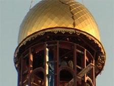 21 декабря 2006 года состоялось освящение и установка купола на заново построенный храм.