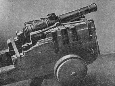 Пушка повстанческой армии Емельяна Пугачева. Хранится в областном краеведческом музее Оренбурга.