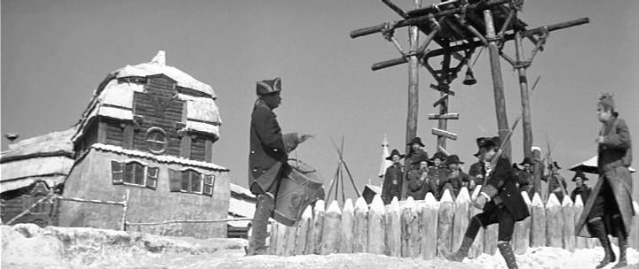 Кадр из фильма Владимира Каплуновского Капитанская дочка 1958 год