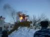 Празднование Масленицы в поселке Берды в феврале 2012 года