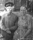 Полторыхин Федосий и Полторыхина (Мельникова) Анна Снимок: середина 50-х годов ХХ века