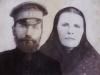 Казак Воробьев Иван Иванович с женой Домной