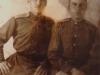 Георгиевский кавалер Воробьев Андрей Иванович (слева) в годы Великой Отечественной войны