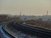 Вид на железную дорогу со стороны Берд