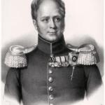 Император Александр I в Оренбурге (фрагмент)