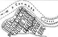 В 30-е годы XIX века Сакмара подходила к самому Бердскому поселку