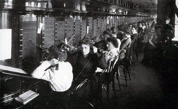 Петербургская городская телефонная станция, 1914 год