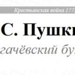 Александр Пушкин: История Пугачева
