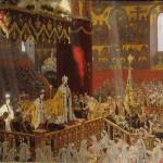 Открытие обелиска в честь Коронования Их Императорских Величеств