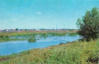 Вид на Берды 1973 год