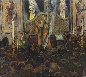 Освящение Николаевского придела Казанско-Богородицкой церкви