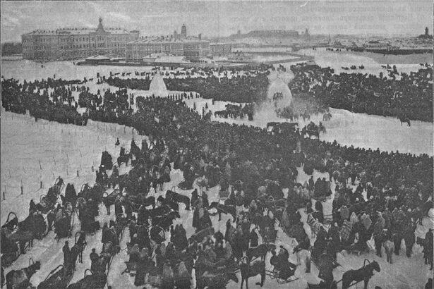 Взятие городка в Оренбургской станице на масленицу 3 февраля 1896 года