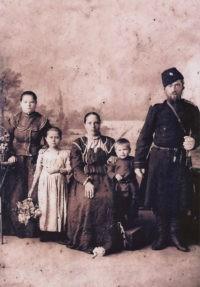 Казачья станица Бердинская. Семья Тюриных