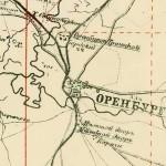 Поселок Бердский на карте 1919 года
