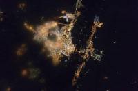 Космонавт Волков опубликовал снимок ночного Оренбурга