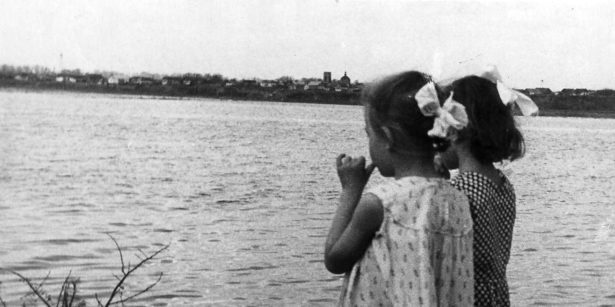 Вид с Сазанного озера на Берды.