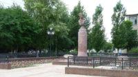 К юбилею города благоустроен сквер имени Пушкина
