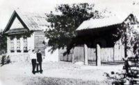 Место, где стояла изба Константина Ситникова