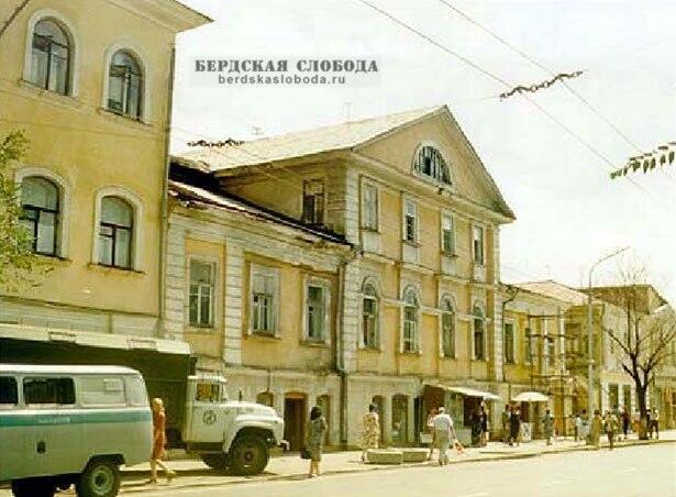 Дом Тимашева в недалеком прошлом.