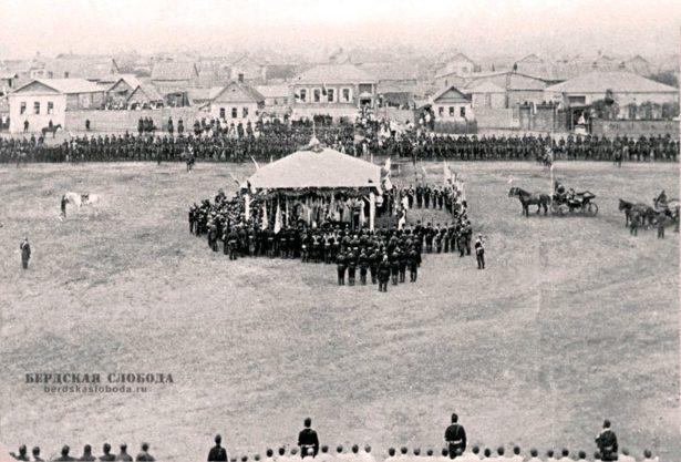 Форштадт 27 июля (8 августа) 1891. Визит цесаревича Николая II