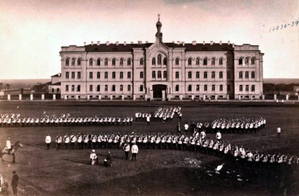 Оренбургская духовная семинария, фотография К.А. Фишера.