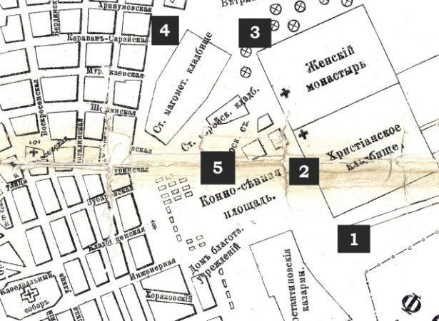План архитектора Бенаева. 1904 г., Оренбург