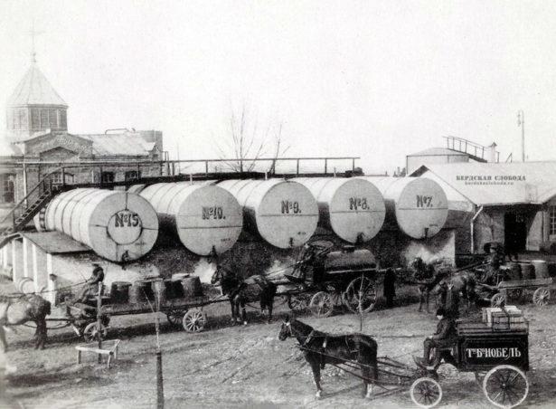 «Товарищество нефтяного производства братьев Нобель» в 1903 году