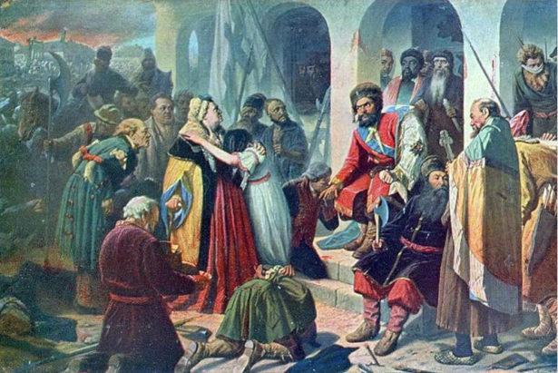 Василий Перов «Суд Пугачева» (1879), Русский Музей