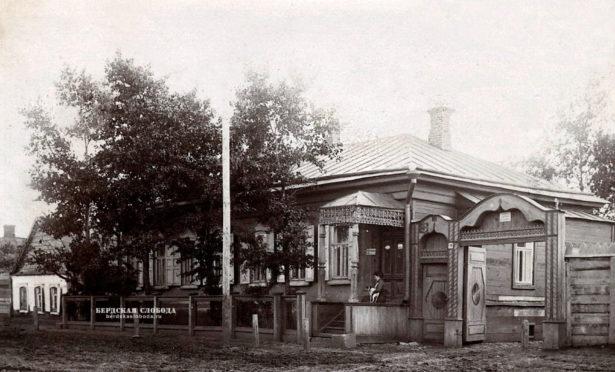 Дом на ул. Зиминской, 25