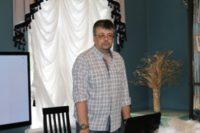 Состоялась встреча с Сергеем Лукьяновым, автором проекта «Бердская слобода»
