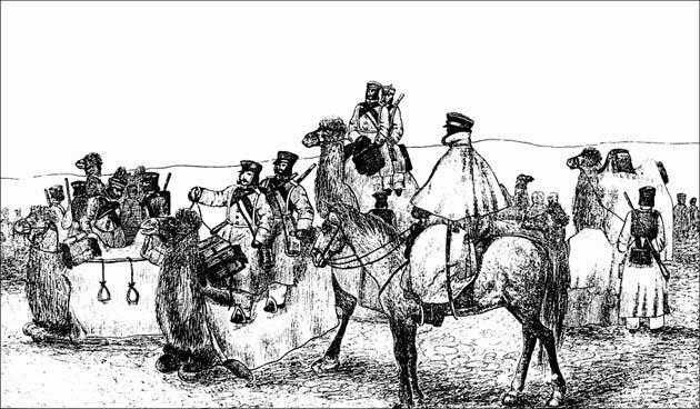 Хивинский поход 1839 г. Рис. Штернберга