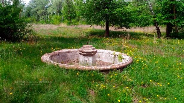 Одна из фонтанных чаш, объявленных памятником истории