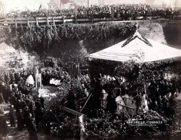 Котлован Казанского собора. Фотографии Оренбурга 1886 года 1