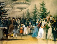 Чернышев: Рождественская елка в Аничковом дворце