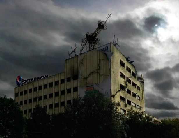 Развалины Ростелекома