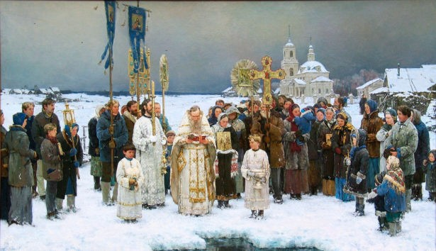 """""""Крещение"""", Антон Овсяников 2002 год"""