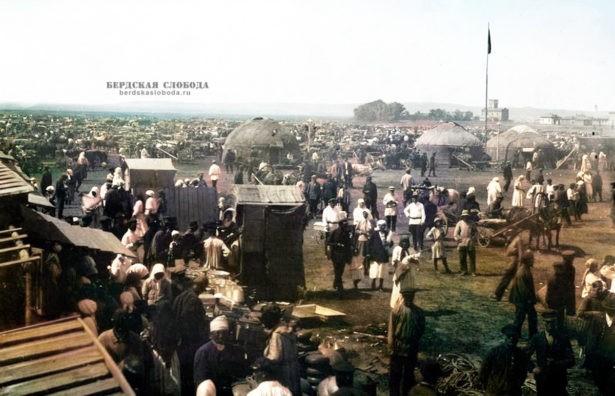 1920-е годы, Старогородской рынок в Орске. Фото ОКМ