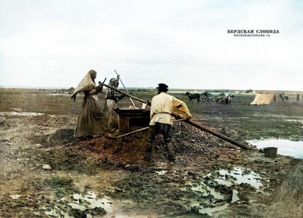 Снимок этнографа Михаила Круковского, сделанный в 1908 году во время экспедиции по Оренбургской и Уфимской губерниям