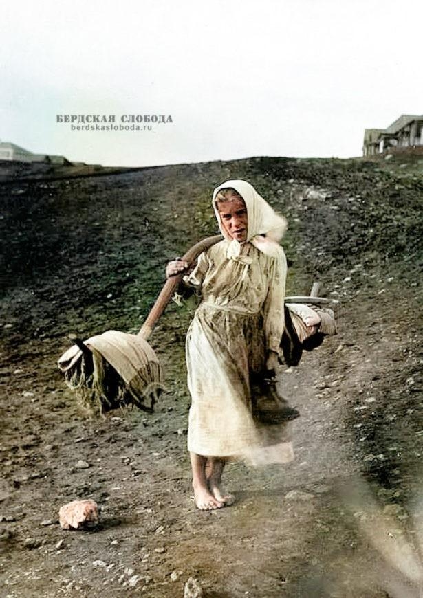 Снимок сделан М.А. Круковским во время этнофотографического путешествия по Уфимской и Оренбургской губерниям в 1908 году