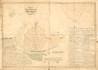 План Оренбурга 1828 года