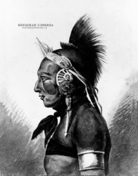 An Osage Warrior, Павел Свиньин